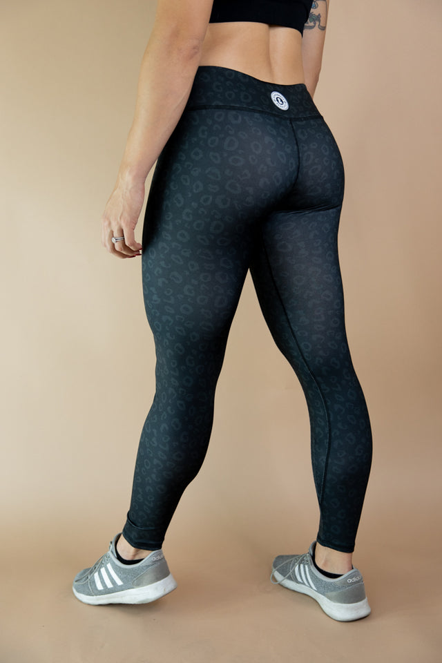 Onyx Cheetah Leggings