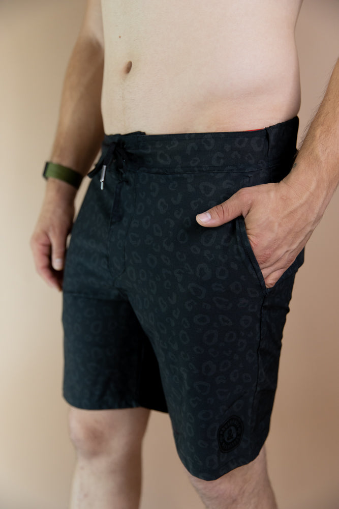 Onyx Cheetah Men's Shorts