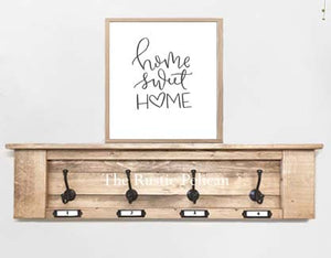 Rustic Farmhouse Coat Rack