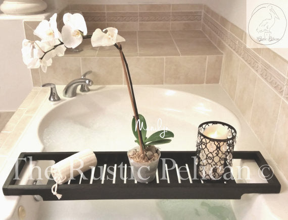 Bath Tray Shower Caddy Free Shipping The Rustic Pelican