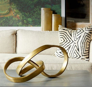 Modern-Sculpture-Bronze-metal-Home-decor