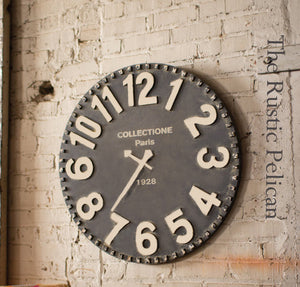 Large Wooden Wall Clocks