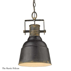 FREE SHIPPING ~ Modern Farmhouse Chandelier Rustic Black Iron Finish