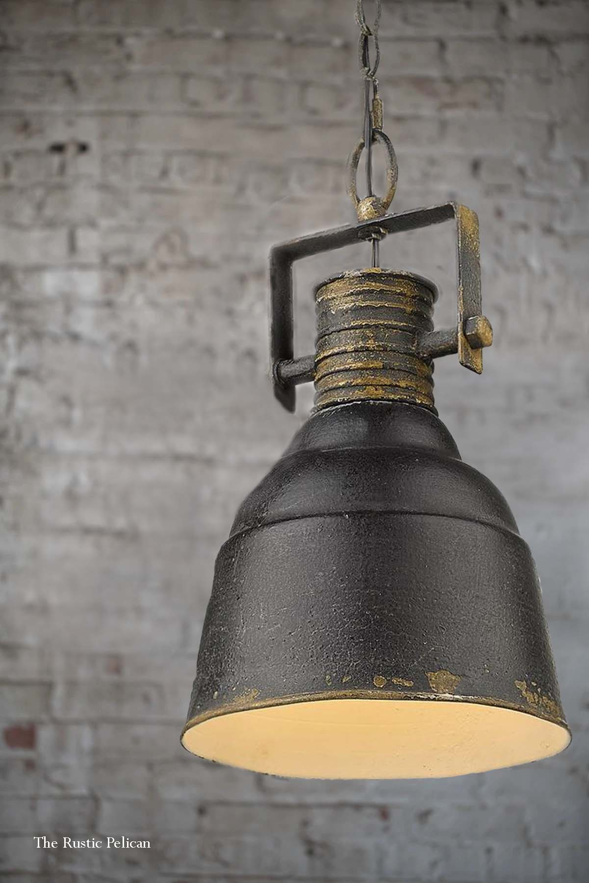 Modern Farmhouse Pendant Light Industrial Chandelier Free Shipping The Rustic Pelican