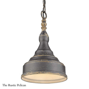 Modern Farmhouse Chandelier Rustic Black Iron