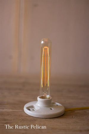Vintage Style Designer Tube Light Bulbs