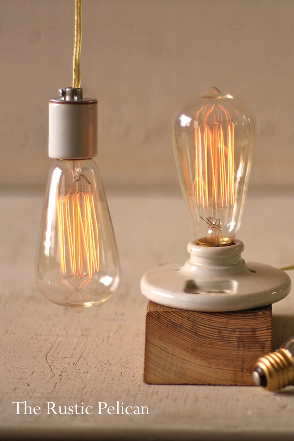 Vintage Style Designer 60-Watt Equivalent  LED Light Bulb