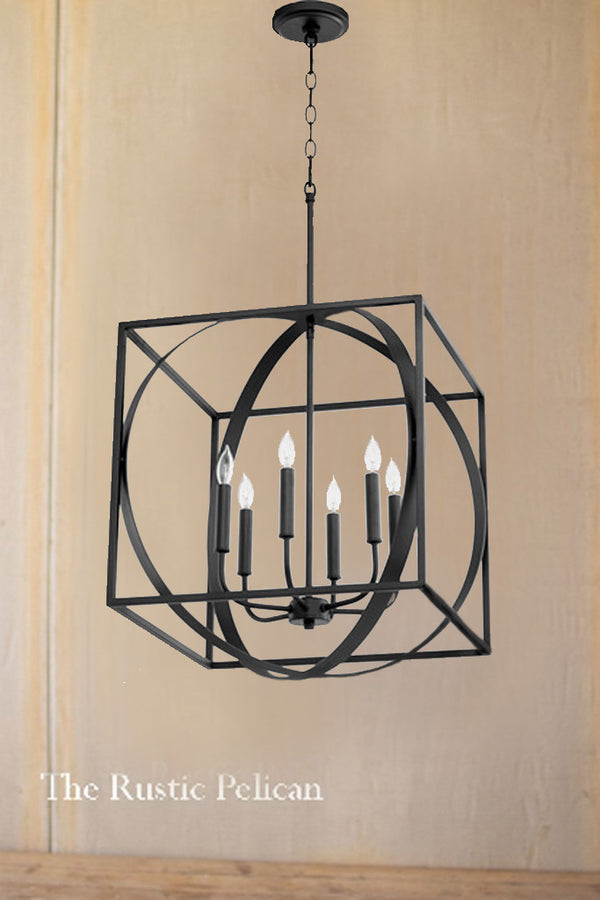 FREE SHIPPING - Large Modern Cube Chandelier