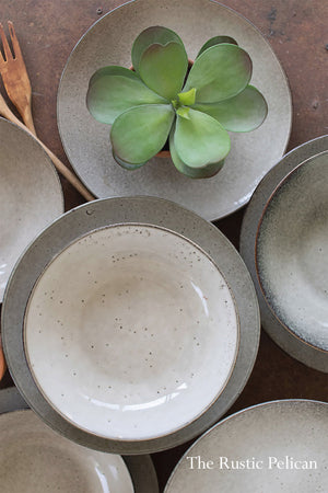 Modern Dinnerware collection set of 4