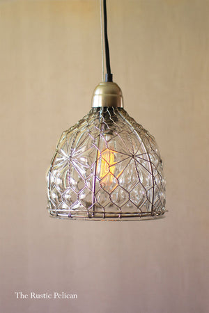 Modern Farmhouse Rustic Pendant Light