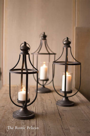 FREE SHIPPING - Lanterns -Modern Coastal Farmhouse