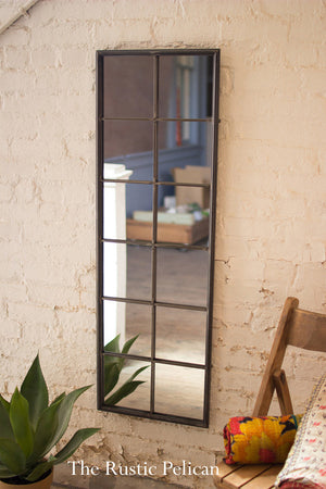Mirror - Modern Farmhouse Framed Metal Window