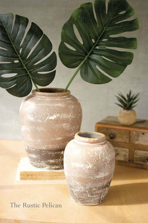 Modern Ceramic Vases-Set of 2