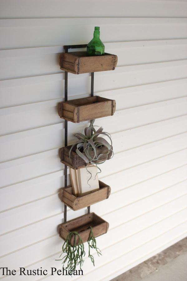 Wall Decor - Rustic Wall Decor - Farmhouse - Floating Shelves