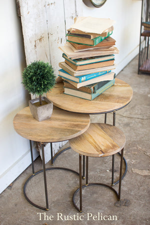FREE SHIPPING ~ Wooden end table