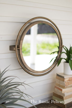 Modern Round Mirror Wall Decor Free Shipping