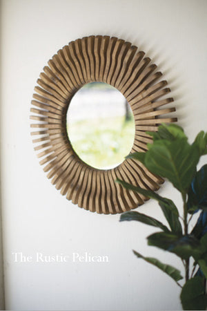 Mirror - Modern Farmhouse Wood Mirror