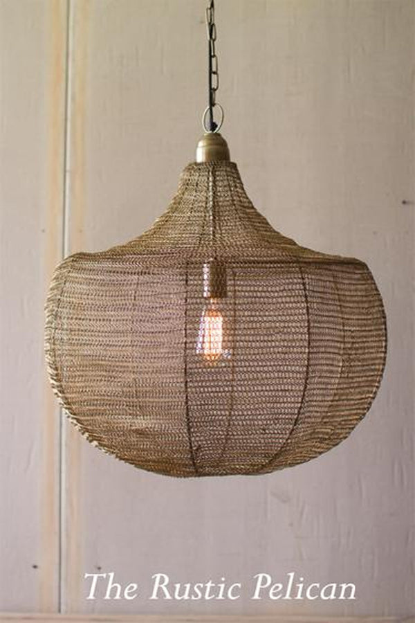 FREE SHIPPING - BoHo- Modern Farmhouse Chandelier