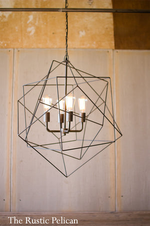 PENDANT LIGHT MODERN CHANDELIER WIRE LIGHT