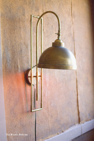 ModernFarmhouse-Wall Sconce-Vintage lighting-Antique Brass