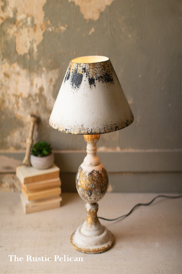 Modern Farmhouse Rustic Table Lamp-Free Shipping