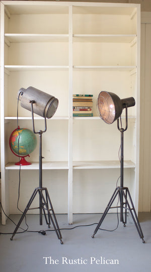 Modern industrial farmhouse lighting, studio floor lamp