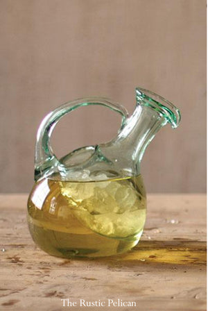 FREE SHIPPING- Modern Glass Pitcher