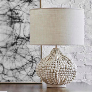 BOHEMIAN BEADED DESIGNER TABLE LAMP