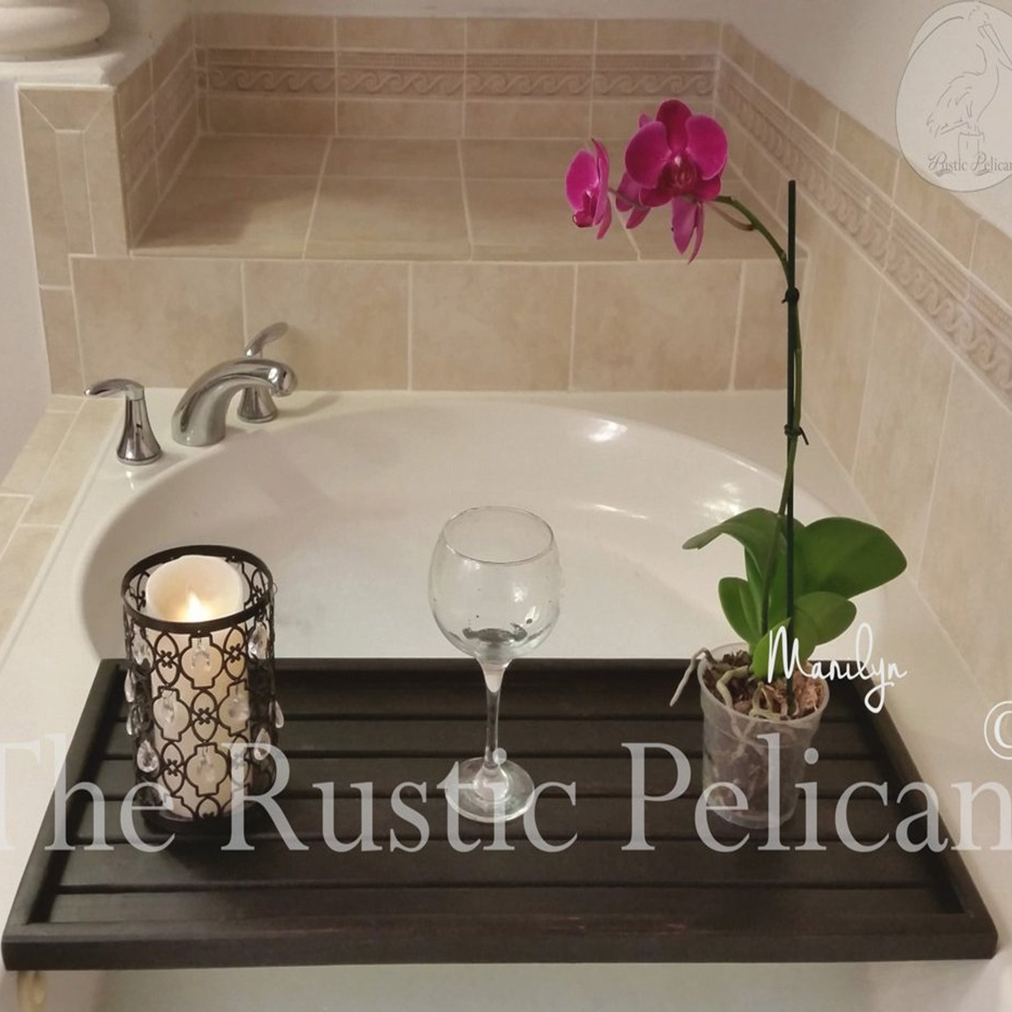 All Tagged Bath Tray The Rustic Pelican