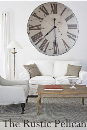 Clock-Large Wood Wall Clocks