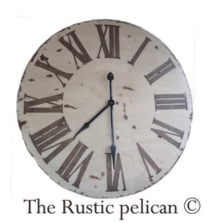 Clocks - Large Wood Wall Clocks