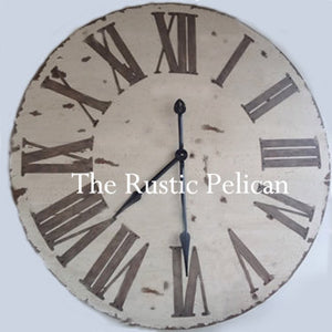 Clocks - Large Wooden Wall Clocks