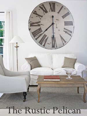 Clocks -Large Wood Wall Clocks