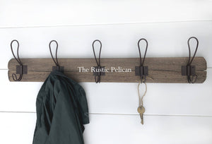 Coat Rack, Floating Shelves, Coat hanger, Wall Decor