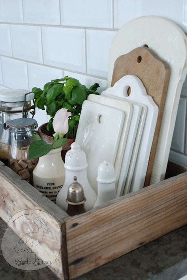 Reclaimed Wood Tray, Farmhouse Decor,