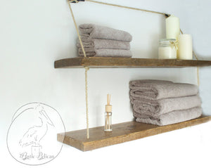 Reclaimed wood shelves, Rustic floating shelves, Reclaimed wood Shelves, Nautical Decor