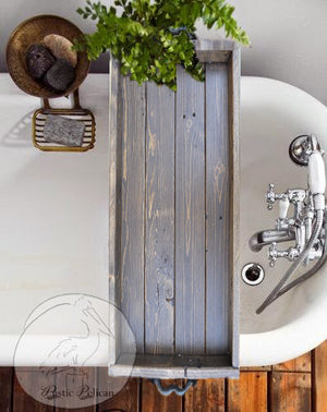 Bath -Tray-Shower - Caddy - Bathroom Storage - Bathroom Decor