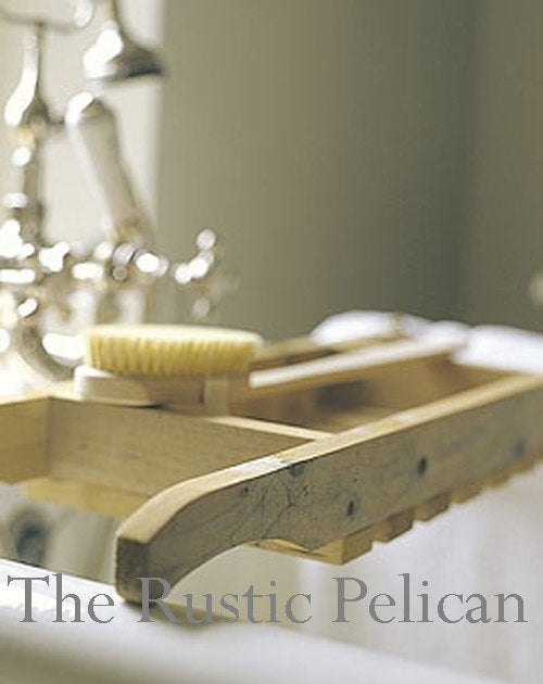 Bath Tray, shower Caddy, Bathroom Caddy, Wooden Bath Caddy