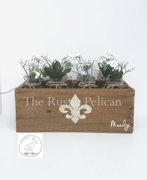 Wedding centerpiece - Farmhouse decor, Rustic home decor