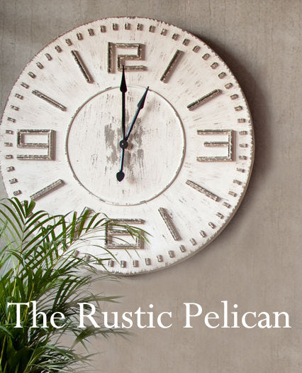 Clock - FREE SHIPPING - - The Rustic Pelican