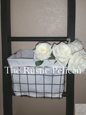 Rustic Bathroom Ladder 4' & 5' Feet