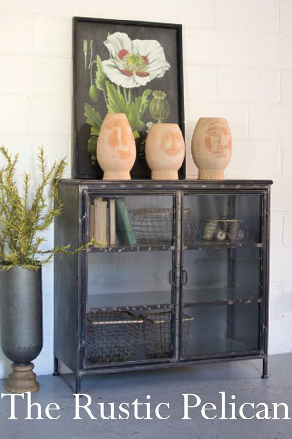 FREE SHIPPING ~Display cabinet