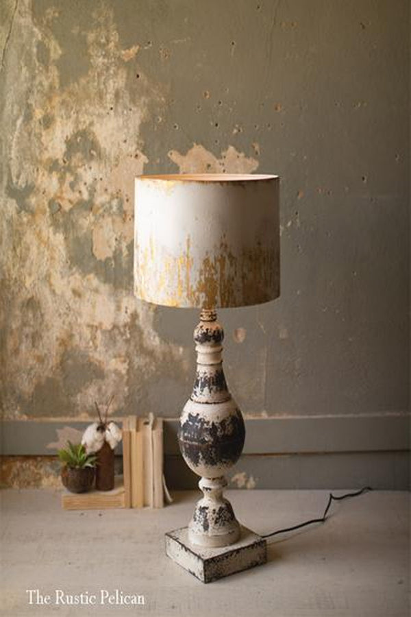 FREE SHIPPING - Modern Farmhouse Rustic Table Lamp