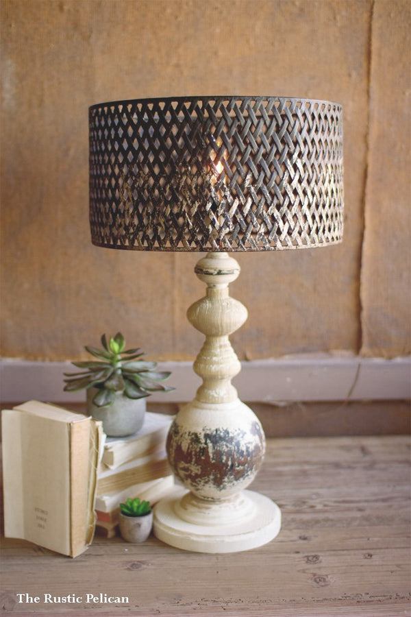 FREE SHIPPING - Modern Farmhouse Table Lamp