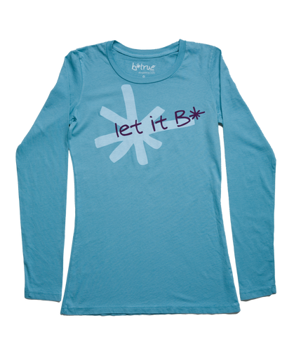 let it B* long sleeve t-shirt