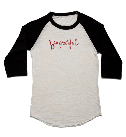 b*grateful baseball t-shirt