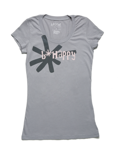 b*happy short sleeve t-shirt
