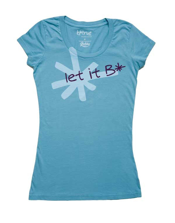 let it B* short sleeve t-shirt