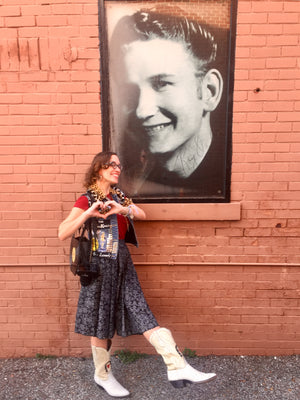 Sun Records Tour in the Mode Merr Perfect Circle Skirt
