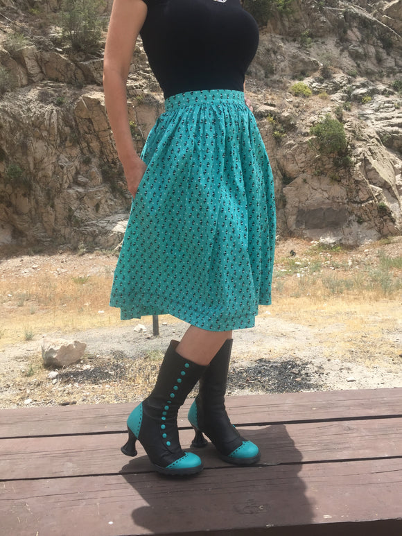 Custom Gathered Skirt Experience: Made Merr to Order